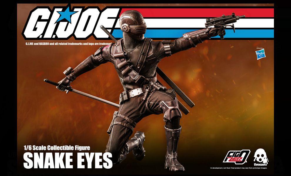 Threezero 3Z0215 Snake Eyes Gi Joe Banner