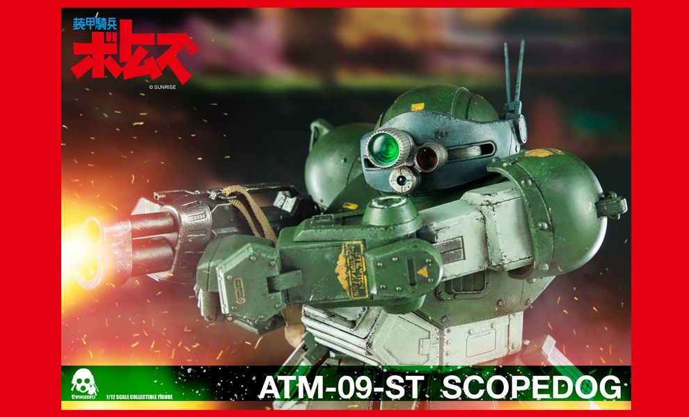 THREEZERO ATM-09-ST SCOPEDOG SCOPEDOG NORMAL VERSION SUNRISE