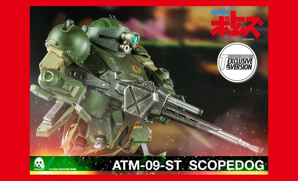 THREEZERO ATM-09-ST SCOPEDOG SCOPEDOG WEBSITE VERSION EXCLUSIVE