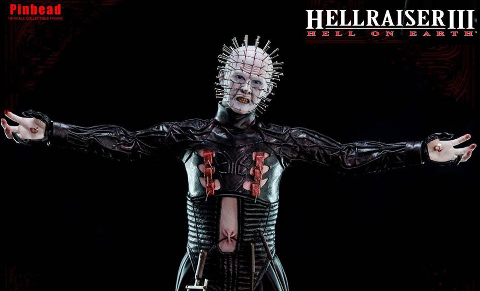 THREEZERO HELLRAISER 3 HELL ON EARTH PINHEAD
