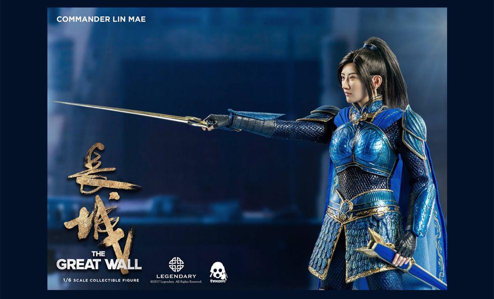 THREEZERO THE GREAT WALL COMMANDER LIN MAE