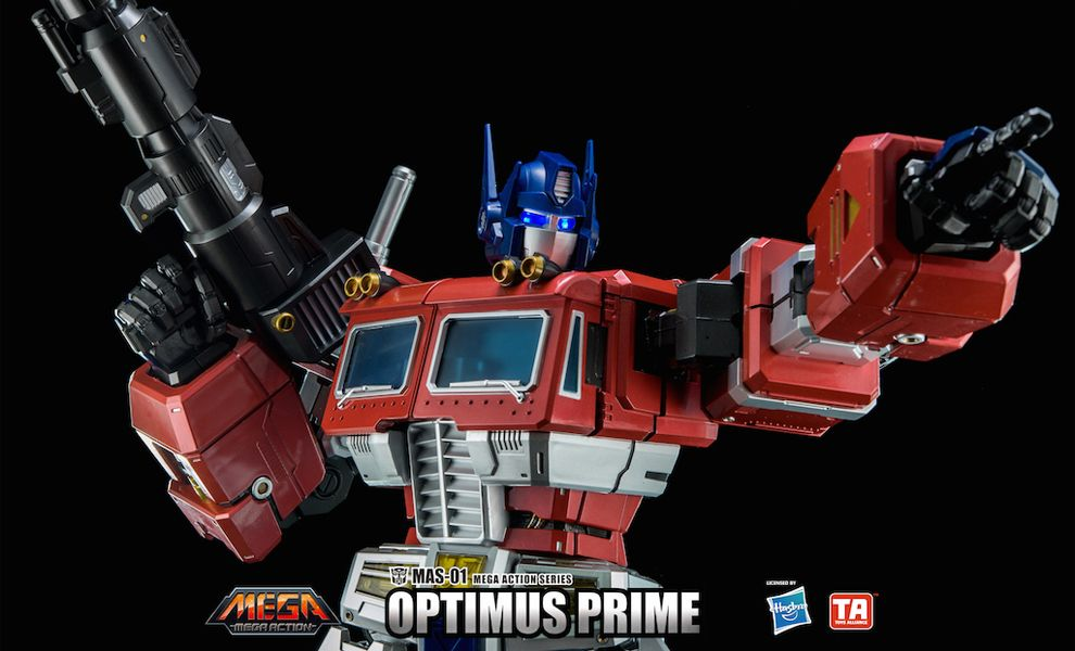 TOYS ALLIANCE MEGA ACTION SERIES MAS-01 TRANSFORMERS OPTIMUS PRIME