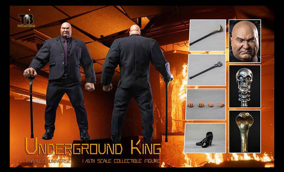 TOYS BATTALION TB001 1/6  Underground King  Banner