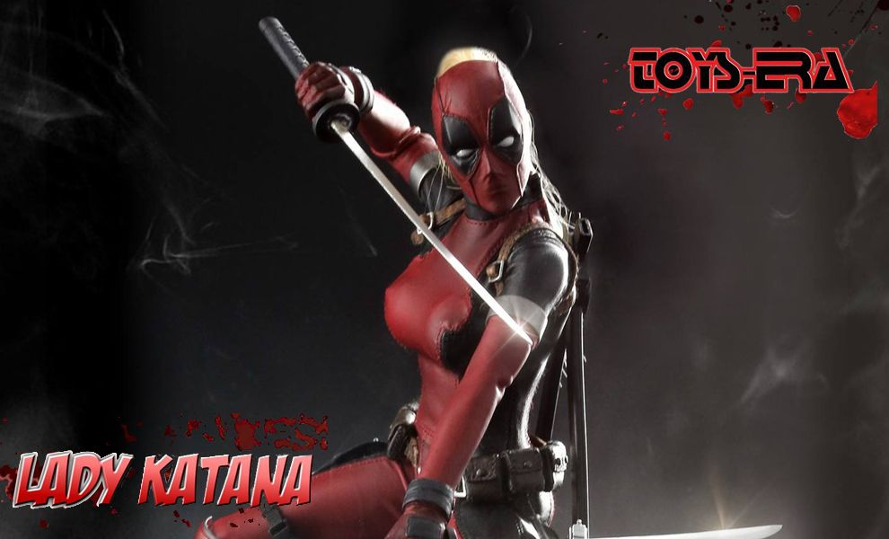 TOYS ERA CT011 LADY KATANA LADY DEADPOOL