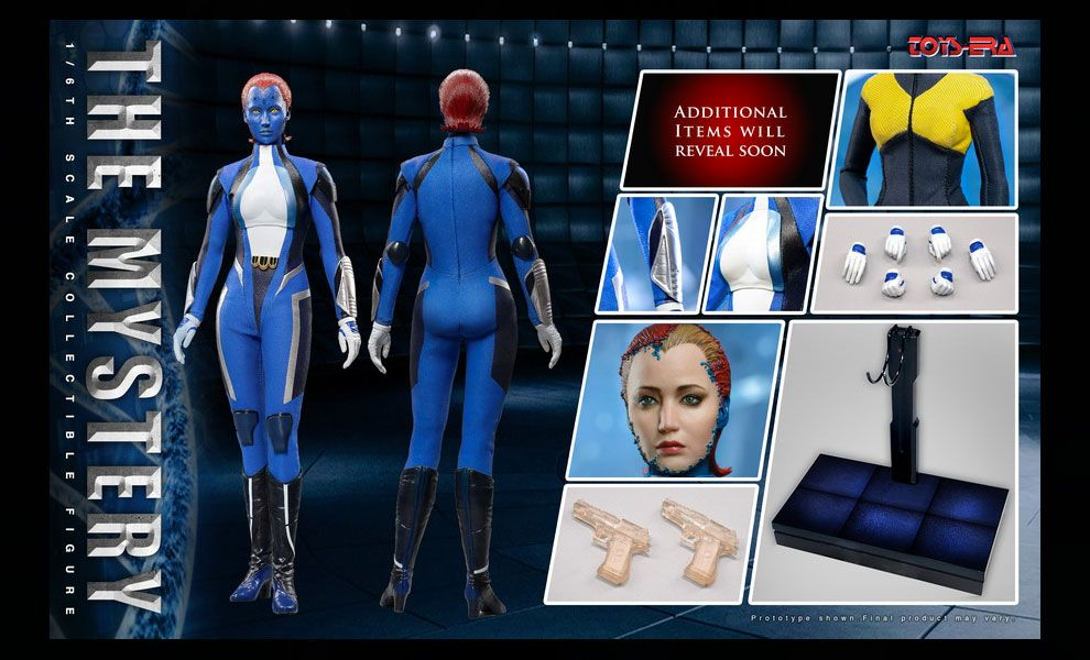 Toys Era TE031 Raven Mystica Jennifer Shrader Lawrence X-Men Dark Phoenix