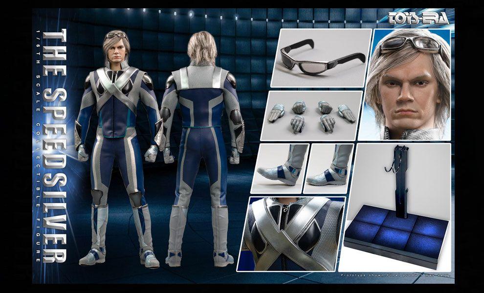 TOYS ERA TE032 X-Men Quicksilver X-Men The Ultimate Combat suit The Speedsilver Normal Version