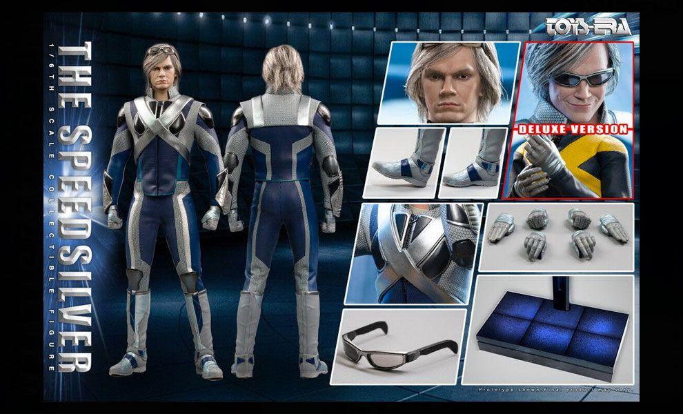 TOYS ERA TE032DX X-Men Quicksilver X-Men The Ultimate Combat suit The Speedsilver Deluxe Edition Banner