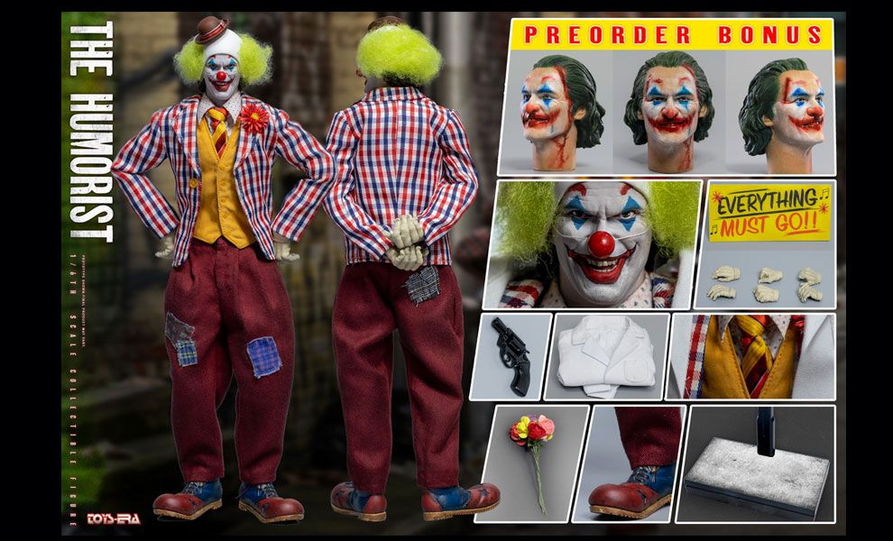 TOYS ERA TE033 1/6 THE HUMORIST Joaquin Phoenix Arthur Fleck Joker