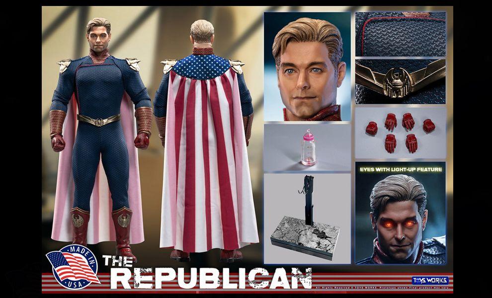 Toys Works TW013 The Republican The Boys Antony Starr John Patriota Banner