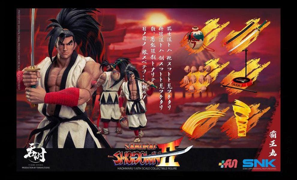 Tunshi Studio Haohmaru 1/6 SAMURAI SHODOWN Bawang Maru SNK Banner