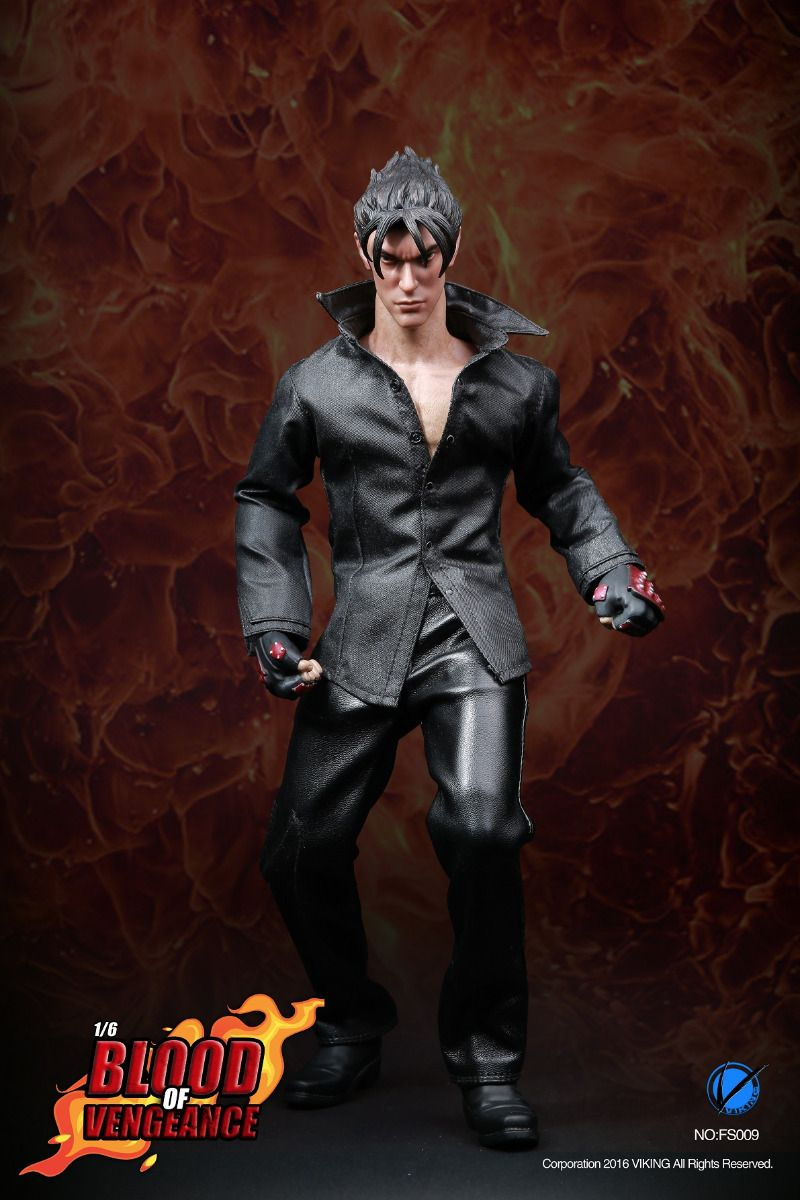 viking fs009 jin kazama blood of engeance tekken