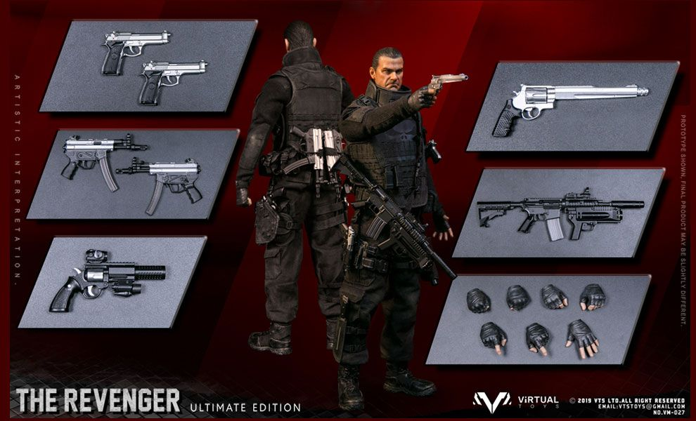 VTS TOYS VM-027 THE PUNISHER THE REVENGER ULTIMATE EDITION