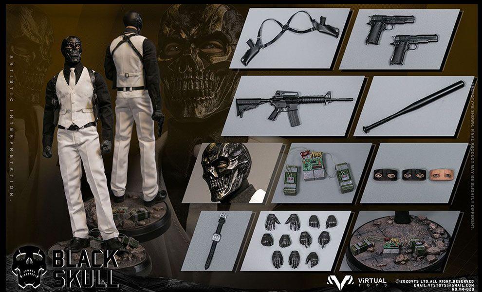 VTS TOYS VM029 Black Skull