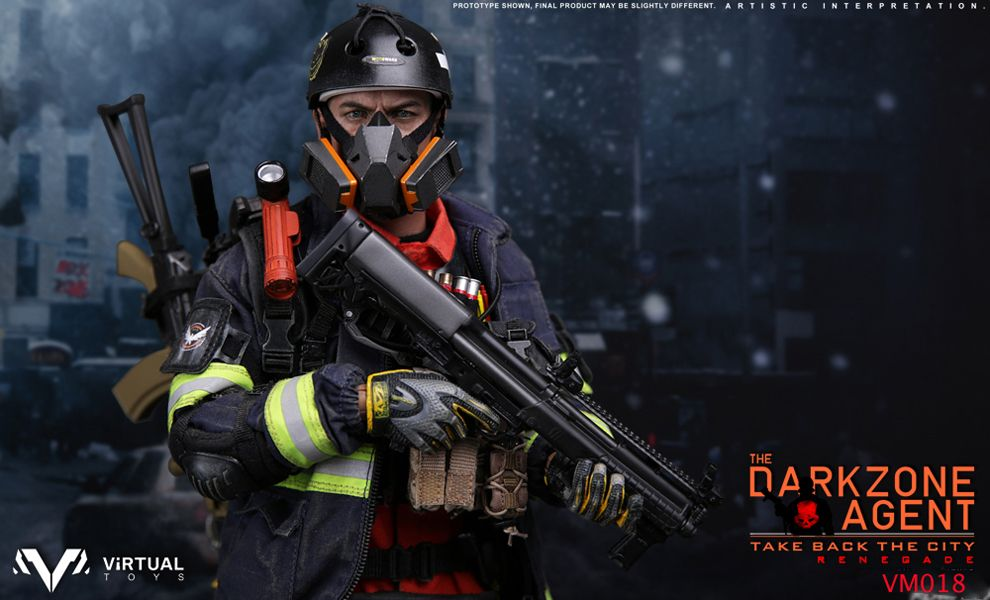 VTS VM018 VIRTUAL TOYS THE DARK ZONE AGENT TAKE BACK THE CITY RENEGADE Tom Clancy's The Division