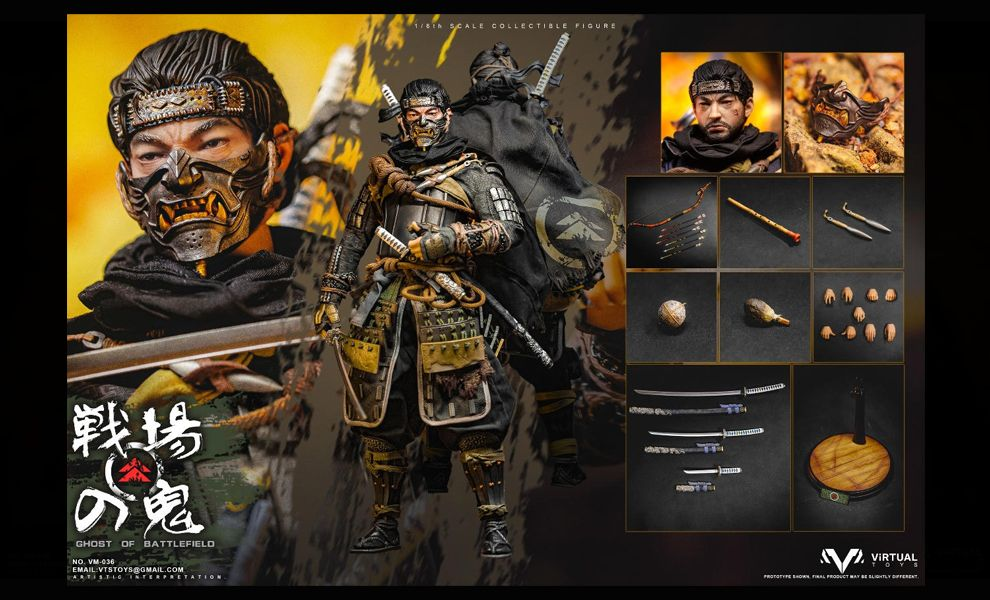 VTSTOYS VM-036A Jin Sakai Ghost of Battlefield Standard Edition Ghost of Tsushima Banner