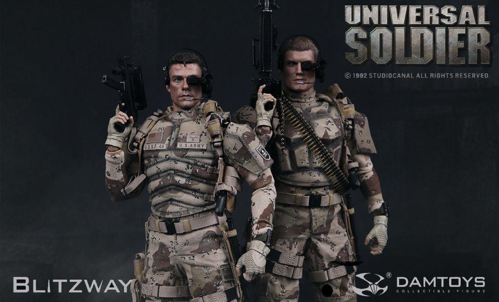 DAMTOYS BLITZWAY DMS001 DMS002 UNIVERSAL SOLDIER LUC DEVERAUX ANDREW SCOTT