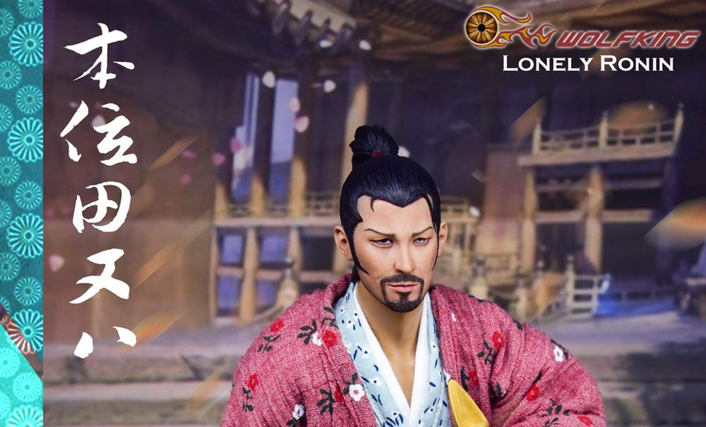 Wolfking WK89017A Lonely Ronin Tian Ba Lonely Ronin action figure