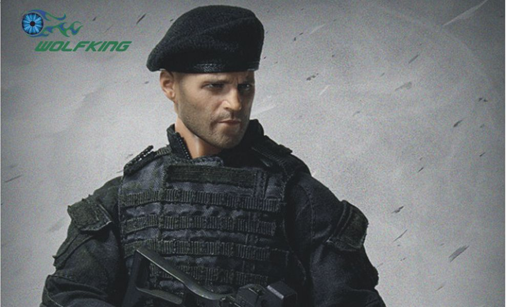 Wolfking The Expendables Jason Statham as Lee Christmas Tough Guy