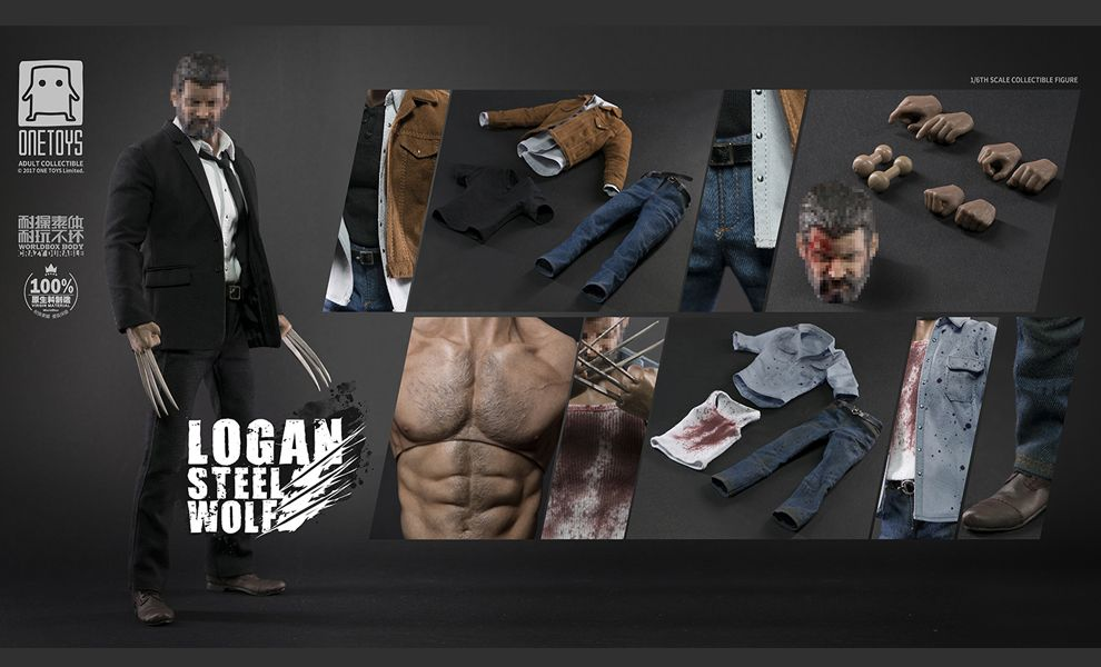 WORLD BOX  X ONETOYS C MAX VERSION LOGAN THE WOLVERINE LOGAN STEEL WOLF