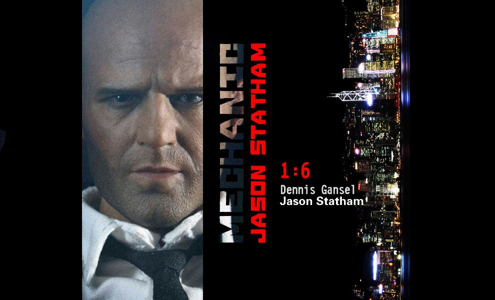 ZC TOY MECHANIC JASON STATHAM DENNIS GANSEL