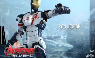 HOT TOYS MMS299 AVENGERS AGE OF ULTRON IRON LEGION