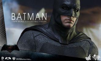 HOT TOYS MMS342 BATMAN V SUPERMAN DAWN OF JUSTICE BATMAN