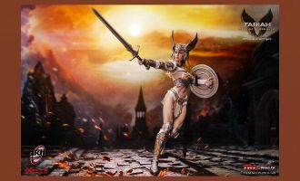 TBLeague PL2019-149 Tariah Silver Valkyrie 1/6 Scale Action Figure