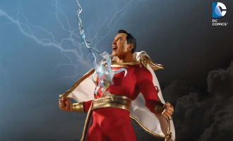 Shazam 1/12 Figure by Mezco Toys