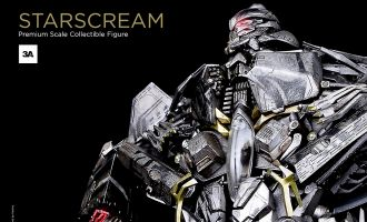 3A THREEA STARSCREAM TRANSFORMERS PREMIUM SCALE COLLECTIBLE FIGURE
