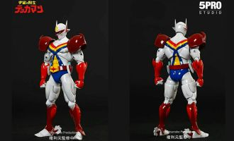 5PRO-Studio-MH-001-Mega-Hero-Action-Figure-Series-The-Space-Knight-Tekkaman-Banner