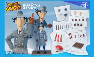 5PRO STUDIO BLITZWAY INSPECTOR GADGET 1/12 SCALE ANIME ACTION FIGURE