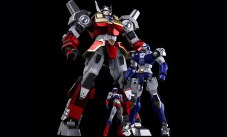 "METAMOR-FORCE ""BARI""ATION Machine Robo Revenge of Cronos Baikanfu"