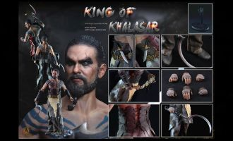 ADD TOYS AD06 1/6 Khal Drogho KING OF KHALASAR Dothraki Game of Thrones bANNER