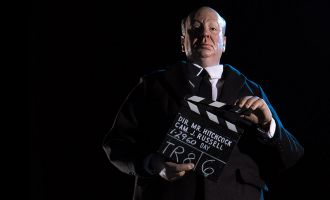 SIDESHOW ALFRED HITCHCOCK SIXTH SCALE FIGURE BY MONDO