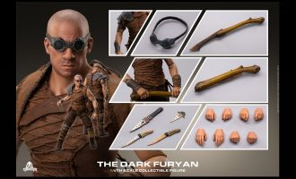 Art Figure AF-025 RIDDICK VIN DIESEL THE DARK FURYAN 2.0 ACTION FIGURE BANNER