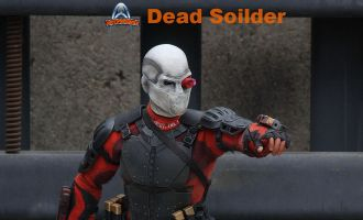 ART FIGURES AF-021 SUICIDE SQUAD DEADSHOT WILL SMITH DEAD SOILDER