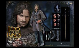 Asmus Toys Lord of the Rings Action Figure Aragorn at Helm's Deep