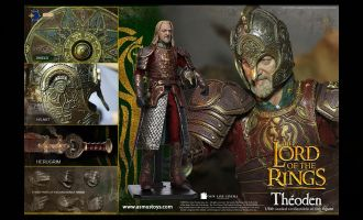 ASMUS TOYS LOTR022 THE LORD OF THE RING SERIES THÉODEN BANNER