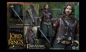 ASMUS TOYS LOTR026 THE LORD OF THE RING SERIES FARAMIR Banner