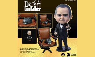 ASMUS TOYS QB003 THE GODFATHER MARLON BRANDO VITO CORLEONE