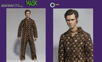 ASMUS TOYS STANTON & MASON ART.DESIGN SMA02 THE MASK JIM CARREY as Stanley Ipkiss