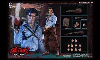 Asmus Toys EDA001 The Evil Dead II Action Figure 1/6 Ash Williams Banner