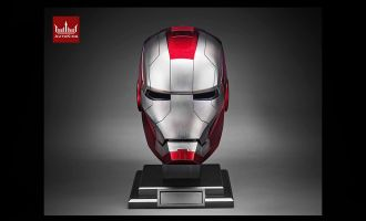 AUTOKING Ironman MARK V IRONMAN MARK 5 COSPLAY 1/1 helmet Banner
