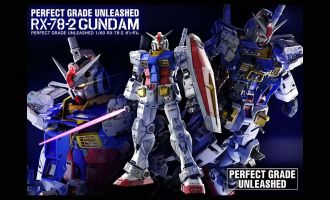 BANDAI PG GUNDAM RX-78-2 UNLEASHED 1/60 PERFECT GRADE