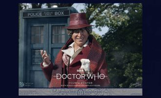 BIG CHIEF STUDIOS DR WHO 4TH DOCTOR DEF. SERIE 1/6 FIGURE