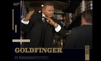 BIG CHIEF STUDIOS GOLDFINGER ODDJOB 1/6 COLLECTOR FIGURE SERIES