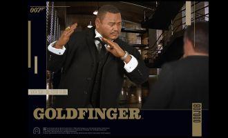 BIG CHIEF STUDIOS GOLDFINGER ODDJOB 1/6 COLLECTOR FIGURE SERIES