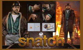 BLACK 8 STUDIO  BK-001 Snatch Mickey O'Neil Brad Pitt collectible toy Banner