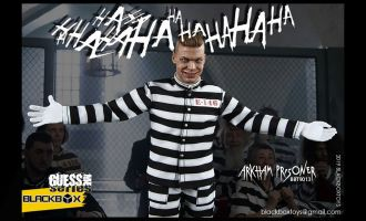 BLACKBOX BBT9013 Guess Me Series Arkham Prisoner Banner