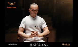 BLITZWAY-BW-UMS-10301-The-Silence-of-the-Lambs-1991-Hannibal-Lecter-White-Prison-Uniform-version